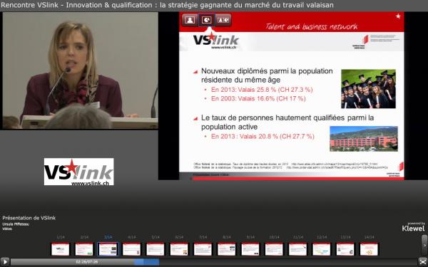 Présentation de VSlink Ursula Piffeteau, VSlink
